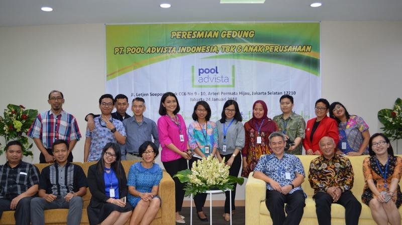 Peresmian Kantor PT Pool Advista Indonesia, Tbk