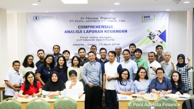 "InHouse Training ""Comprehensive Analisa Laporan Keuangan 2019"" PT Pool Advista Finance, Tbk."